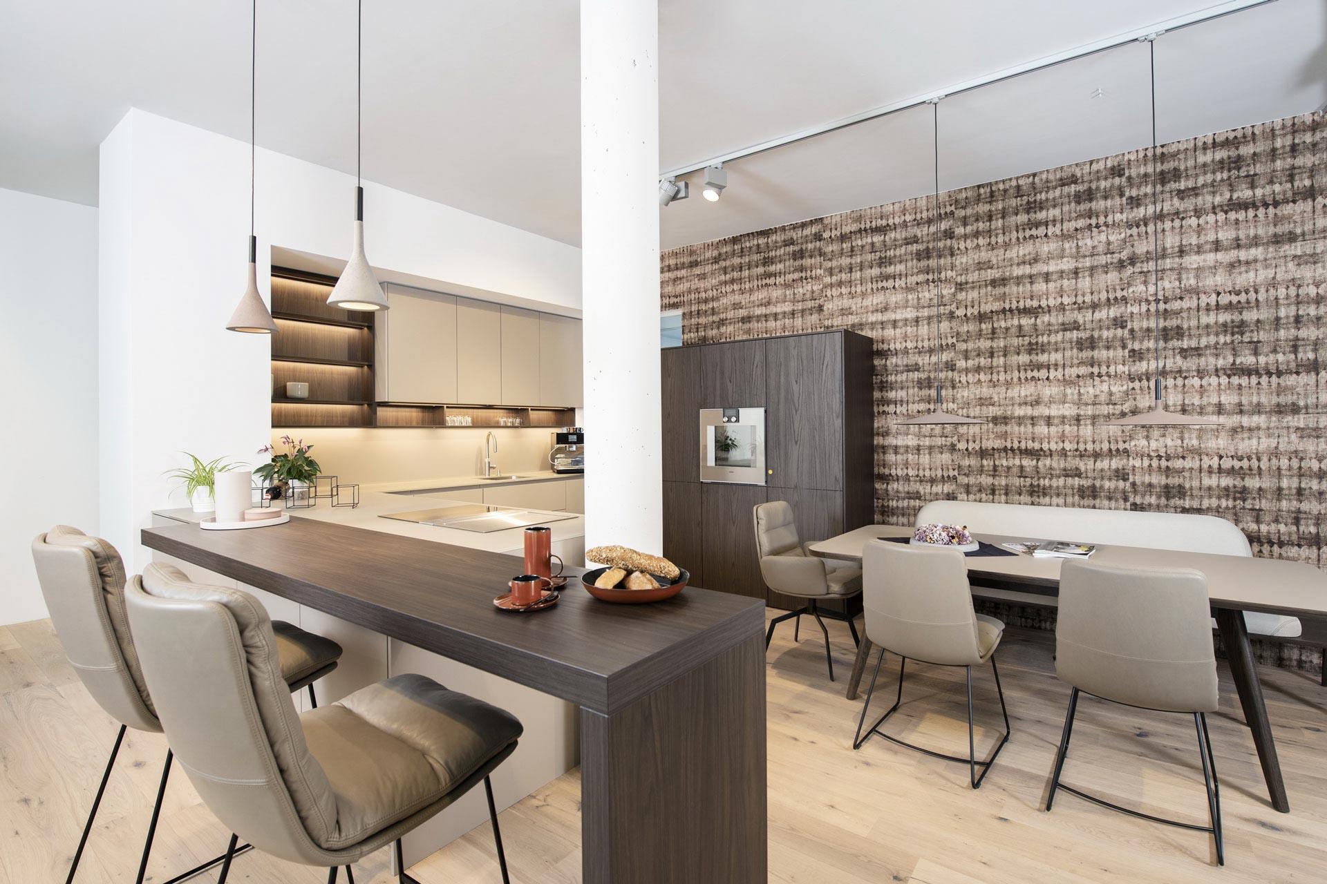 couchzone - Interior Design Innsbruck - Küche und Esstisch