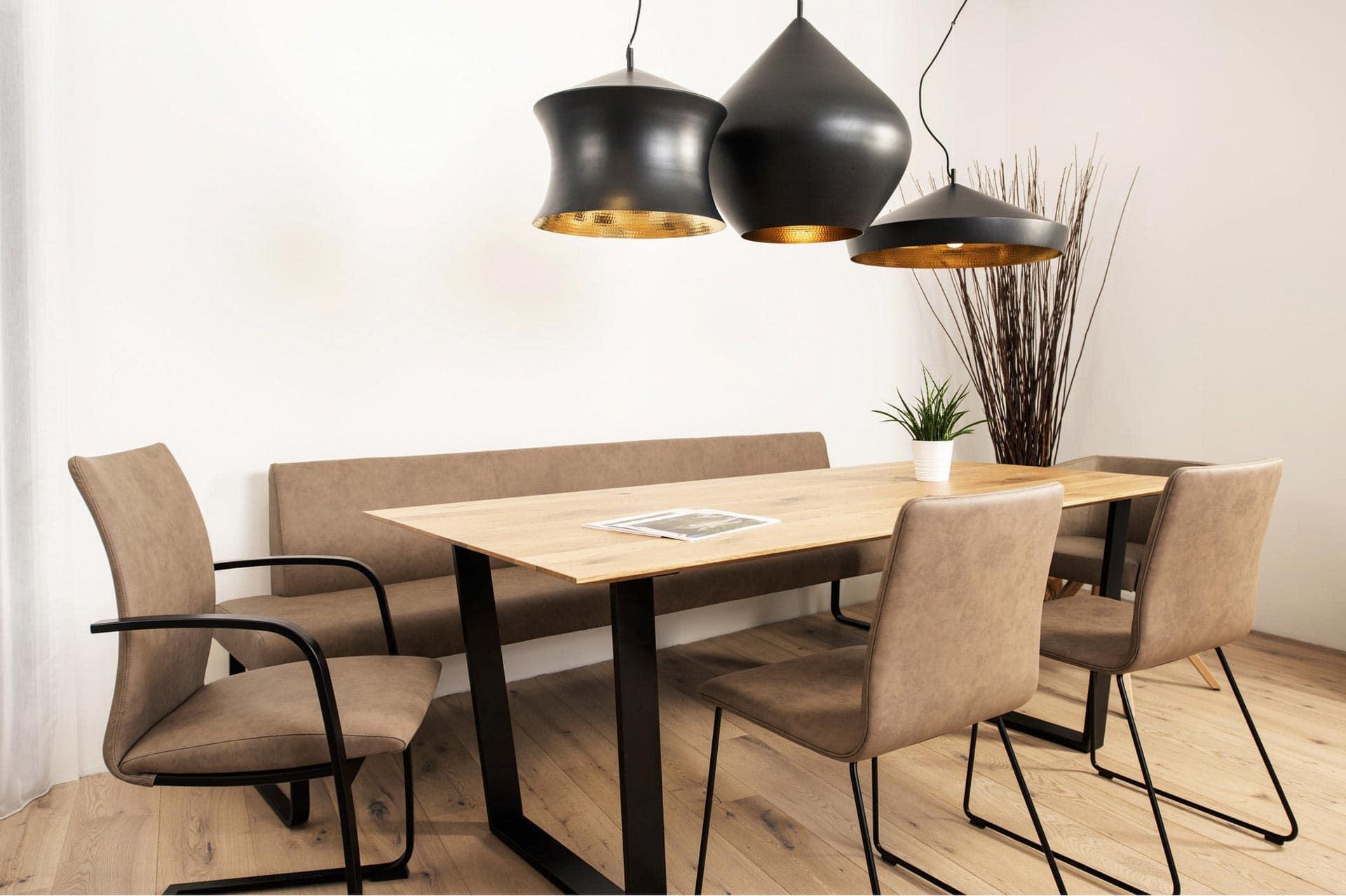 couchzone - Interior Design Innsbruck - modernes Esszimmer